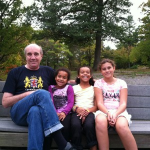 Musawwir with Granddaughters